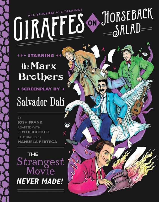 Frank Heidecker Pertega Giraffes on Horseback Salad